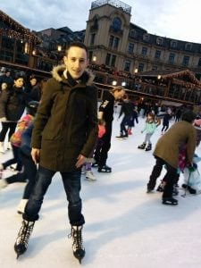 Skating in Munich
