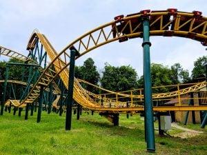 Rollercoaster in Kharkiv